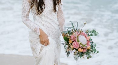 10 Beachy Wedding Dresses for Your This Season