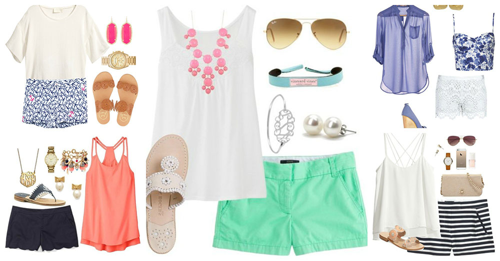 6d51957390d8 Casual Summer Polyvore Outfits You Should Not Miss